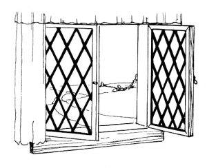 Casement Double Glazing windows representation